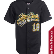 Adult Home Run Full Button Pro-Weight Polyester Jersey